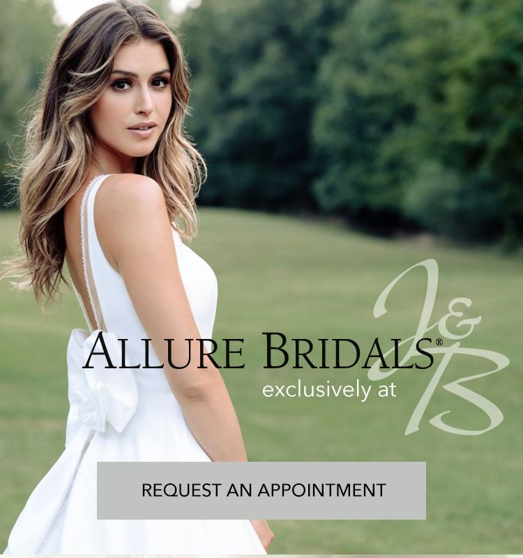 Allure Bridals exclusively at J&B